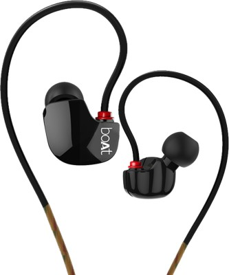 boAt Nirvanaa Uno Sports Wired Headset with Mic