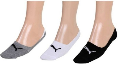 Puma Men & Women Solid Footie Socks