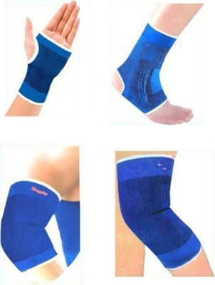 Sports Solutions COMBO OF KNEE ANKLE PALM AND ELBOW SUPPORTS Palm, Elbow & Ankle Support