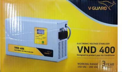 V-Guard VND400 Voltage Stabilizer for 1.5 Tonn AC