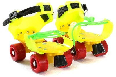 M-Alive Dry Skate Out Door Activity toy High Quality Material Fancy Look Power Quad Roller Skates - Size 4-7 UK