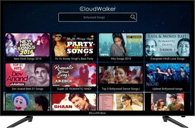 CloudWalker Cloud TV 100cm (39.37 inch) Full HD LED Smart TV