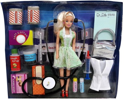 Bonkerz Dr. Dolly Doll With Doctor Kit For Kids