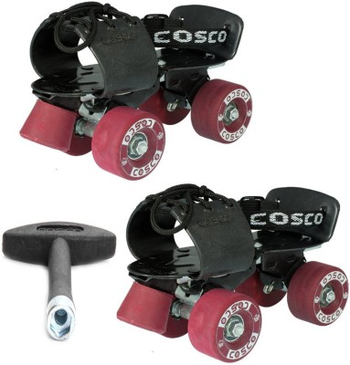 Cosco Tenacity Super Sr. (19.5 - 26.5 cm) Age Group (8+ Years) Quad Roller Skates - Size Kids 12 - Adults 8 UK