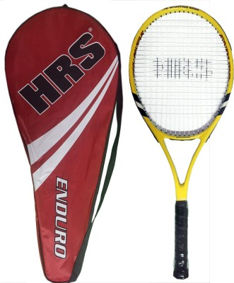 HRS Enduro Graphite Composite Yellow, Black Strung Tennis Racquet