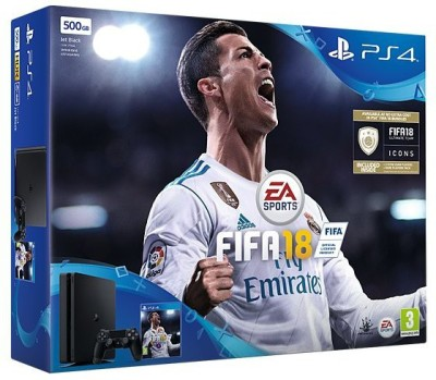 Sony Ps4 500GB GB with Fifa 18