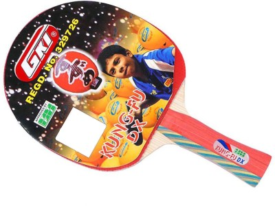 GKI Kung Fu DX In Computerised Printed Cover Multicolor Table Tennis Racquet