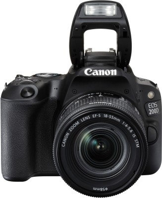 Canon EOS 200D DSLR Camera EF-S18-55 IS STM EF-S 55-250 IS STM