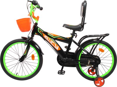 Hollicy FURY 20 INCH KIDS BICYCLE - BLACK/GREEN 20 T Recreation Cycle