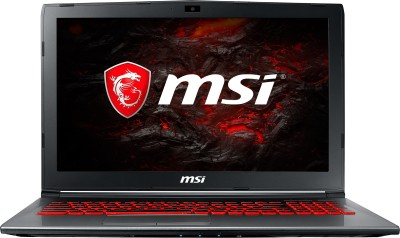 MSI GV Series Core i7 7th Gen - (8 GB/1 TB HDD/DOS/4 GB Graphics) GV62 7RD-2297XIN Gaming Laptop