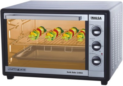 Inalsa 24-Litre Kwik Bake- 24 RSS Oven Toaster Grill (OTG)