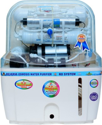 Rk Aquafresh India Swift Plus 12 Ltrs 14stage 12 L RO + UV +UF Water Purifier