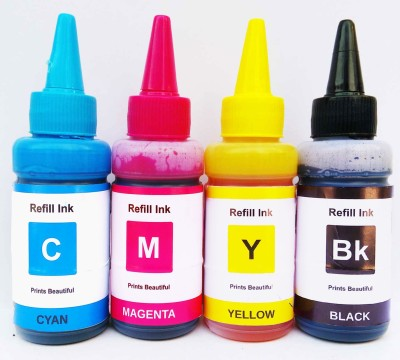 Refill Ink Canon G1000 G2000 G2002 G3000 G4000- Premium Quality -75ml Bottles - G Series 190/790/890/990 (Compatible) Multi Color Ink Cartridge