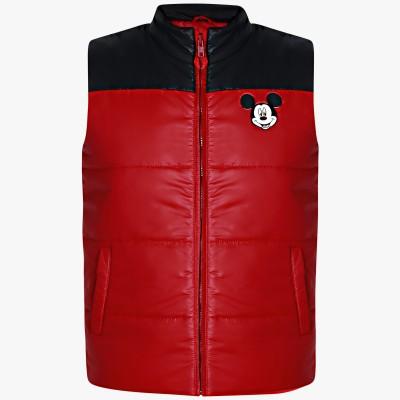 Mickey & Friends Sleeveless Solid Boys Jacket