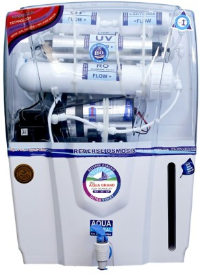 Aquagrand AUDY 12 L RO + UV + UF + TDS Water Purifier