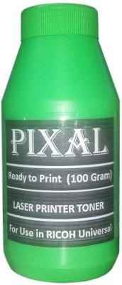 Pixal Extra Dark Powder for RICOH Printers Cartridges Universal (1 Bottle X 100 Grams) Single Color Ink Toner