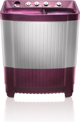 MarQ by Flipkart 8.5 kg Semi Automatic Top Load Washing Machine Maroon, White
