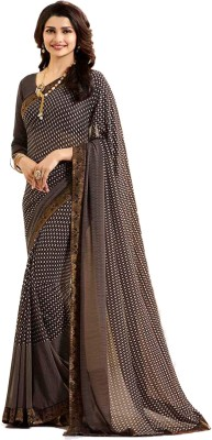 Bombey Velvat Fab Printed, Paisley Daily Wear Georgette, Chiffon Saree