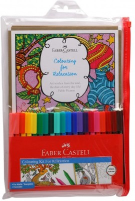 Faber-Castell Colouring For Relaxation Kit