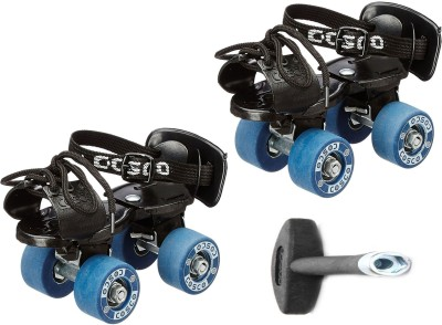 Cosco Tenacity Super Jr. (16.5 - 19.5 cm) Age Group (3 - 6 Years) Quad Roller Skates - Size 8 - 11 UK