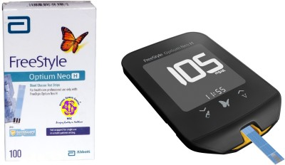 Abbott Freestyle Neo H Meter Kit with 100 test strips Health Care Appliance Combo