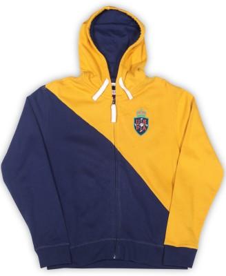 US Polo Kids Full Sleeve Solid Boys Sweatshirt