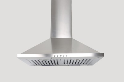 GLEN Cooker hood 6075 SS 60cm 1000m3 BF LTW Wall Mounted Chimney