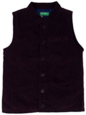 United Colors of Benetton Solid Baby Boys Waistcoat