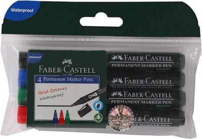 Faber-Castell Permanent Marker Pen Assorted Wallet