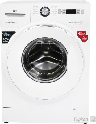 IFB 6.5 kg Fully Automatic Front Load Washing Machine with In-built Heater White