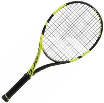 Babolat PURE AERO JUNIOR 26 Black Strung Tennis Racquet