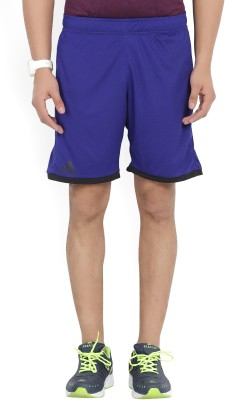 ADIDAS Solid Men's Blue Gym Shorts