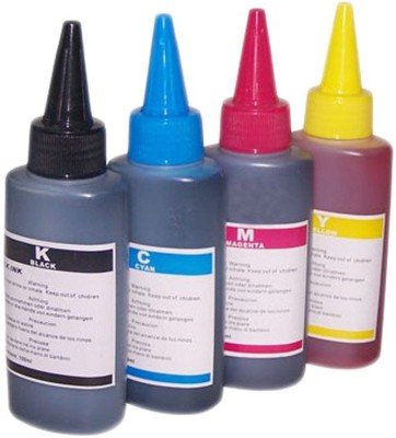 RTZ Universal Ink for use in HP/ Canon/ Brother/ Samsung Inkjet Printers Multi Color Ink Cartridge
