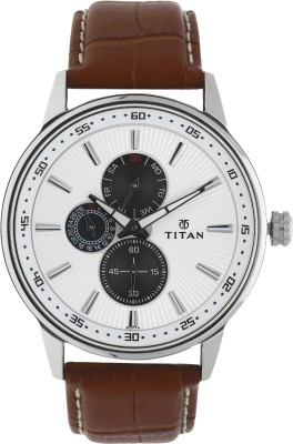 Titan 9441SL01 Smart Steel Watch  - For Men
