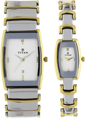 Titan NH13772385BM01 Analog Watch  - For Couple
