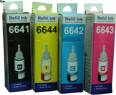 refill ink Set of 4 Colors Multi Color Ink Cartridge