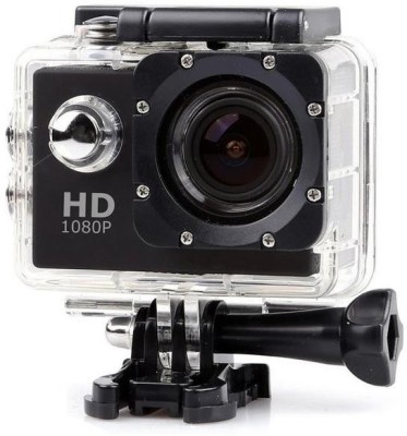 Raptas 1080PAction 1080p Sports Camera With Multi Language & Micro SD Card Slot Sports and Action Camera