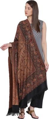 Weavers Villa Cotton Blend Woven Women Shawl