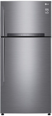 LG 516 L Frost Free Double Door 3 Star Refrigerator