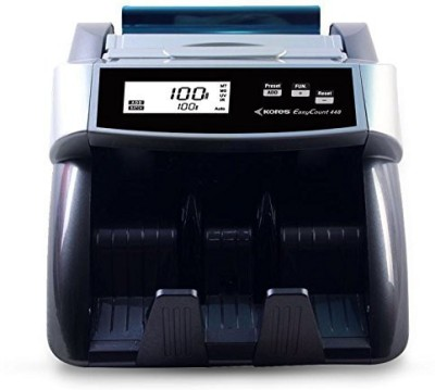 swaggers Kores currency counting machine for new notes 50,200,500,2000 Note Counting Machine