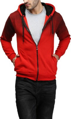 High Hill Full Sleeve Solid Men's Sweatshirt