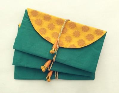 Kolorfish Handmade Money Envelopes Dark Green (Pack of 3) Envelopes