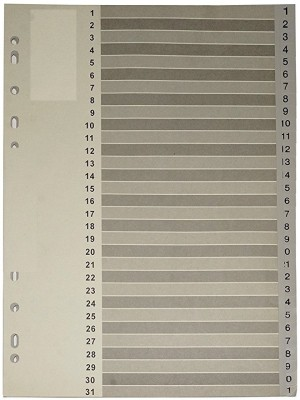 FELICITY PLASTIC neo-350 O Index File set -Grey (Pack of 2)