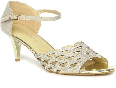 Addons Women Gold Heels