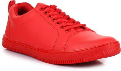 D-SNEAKERZ Casual , Partywear Sneakers Shoes For Men's And Boys Red Color Sneakers For Men