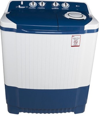 LG 7 kg Semi Automatic Top Load Washing Machine White, Blue