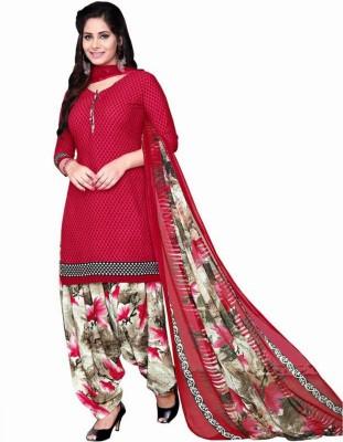 Reya Crepe Printed Salwar Suit Dupatta Material