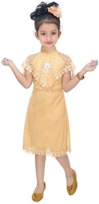 AADIGAS Girls Maxi/Full Length Party Dress