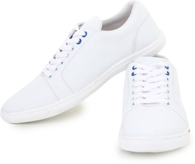 D-SNEAKERZ Casual , Partywear Sneakers Shoes For Men's And Boys White Color Sneakers For Men