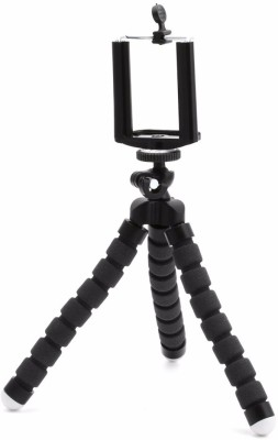 Lifestyle-You Adjustable Flexible Mini Portable Tripod Stand with Universal Smartphone Clip Holder Tripod